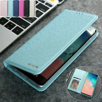 F Samsung S20+ Ultra Note 10 S10 Plus Magnetic PU Leather Wallet Case Flip Cover