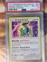 2017 Pokemon SM Shining Legends, Shining Arceus-Holo #57 PSA 8