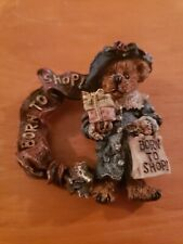 Boyds Bears & Friends Pin  Brooch Born to shop