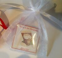 Personalised Baby's first Christmas Sixpence Gift 1st Xmas Stocking Filler