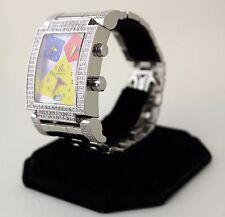 Jacob & Co. Capri JC04 Factory 4.75ct Diamond Wristwatch Multi Time Zone Quartz