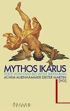 Mythos Ikarus. Texte von Ovid bis Wolf Biermann. vo... | Buch | Zustand sehr gut