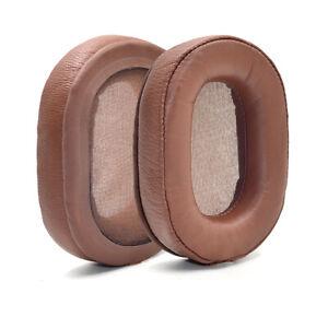 Genuine Leather Ear pads cushion for Denon AH-MM400 Music Maniac 400 Headphones