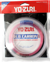 Yo-Zuri HD Fluorocarbon Leader Disappearing Pink 30yds