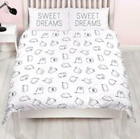 Official Pusheen Sweet Dreams Single/Double/King Reversible Duvet Cover Bed Set