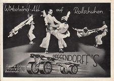 Rollschuh- Künstler, Deggendorff's, Leipzig,  siehe Scan
