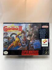Super Castlevania IV (Super Nintendo) NEW Factory Sealed SNES