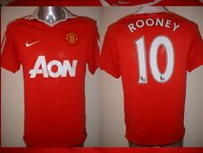 Manchester United ROONEY Jersey Shirt Adult S Soccer Football Nike Man Utd 10-11