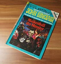 John Sinclair Geisterjäger Gruselromanheft Bastei 2. Auflage Band 354
