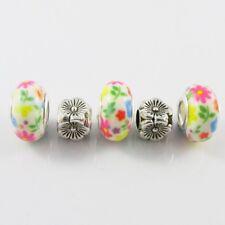 5pce Spring Garden Bead Set for European Charm Bracelets