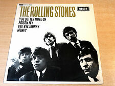 "EX/EX !! The Rolling Stones/Self Titled/1982 Decca 12"" Single EP"