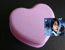 Pink Heart Shape Wind Up Music Box : Harry Potter Hedwig's Theme