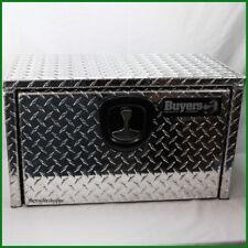 Diamond Plate Aluminum Underbody Truck Tool Box 14X12X24 T-Handle