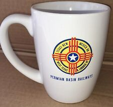 Permian Basin Railways cup Texas New Mexico RR West Texas Lubbock RY railroad