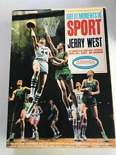 Vintage 1965 Aurora Great Moments in Sport Jerry West Complete & unbuilt