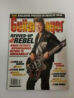 Guitar Player Magazine October 2001 BRIAN SETZER COVER ISSUE Complete EUC