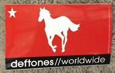 Deftones sticker Licensed worldwide white pony