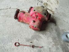 Farmall 300 Ih Rc Tractor Original Belt Pulley Drive Assembly 358223r3 With Rod Amp