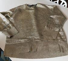 Stella Mccartney Oberteil Bluse Shirt Gold