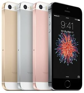 Apple iPhone SE 16GB - Silver Space Gray Rose Gold - Verizon Unlocked | Good (B)