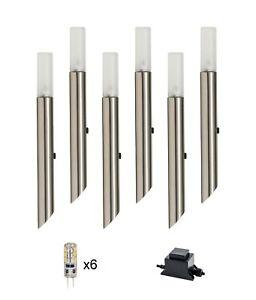 HAVIT Vidro 316 Stainless Steel 1.5w LED Garden Spike Light Kit