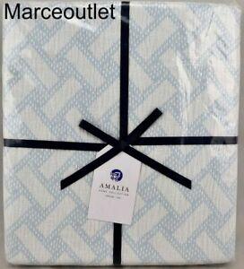 "Amalia Home Collection Palma Cotton Throw 50"" x 70"" Ice Blue"