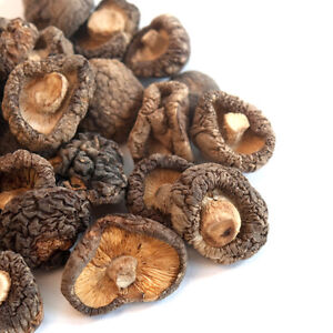 Shiitake Mushrooms, Dried (Standard Grade) | Bulk | Spice Jungle