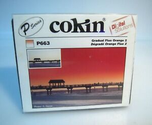 New Cokin P663 Gradual Fluo Orange 2 Filter Series P. -K1112