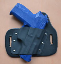 Leather/kydex hybrid OWB beltslide holster for Sig Sauer SP2022 9mm/.40
