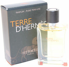 TERRE D'HERMES BY HERMES 0.42 OZ PURE PARFUM SPRAY FOR MEN NEW IN BOX