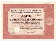 Brunsviga - Maschinenwerke Grimme, Natalis & Co. AG  1939  Braunschweig