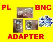 Adapter PL Stecker auf BNC Buchse