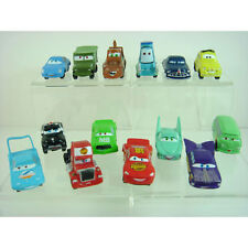 14 pcs Disney Cars Lightning McQueen Mater Sally Figures Collection SET + CHARM