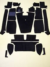 MGB 68-80 BLACK LOOP CARPET KIT with 20 oz. padding CRAZY SPECIAL PRICE