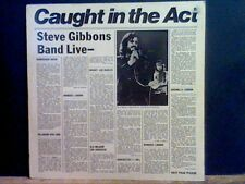 STEVE GIBBONS BAND  Caught In The Act  LP  Great!