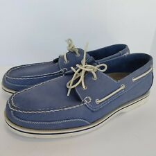 Rockport Boat Shoe Blue Casual Shoes