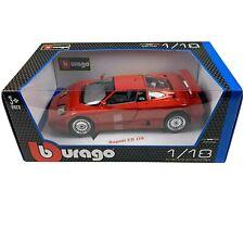 Bburango BUGATTI EB110 EB 110 RED 1:18 Diecast Model Car 12023 Italian Designs