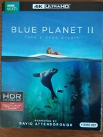 Blue Planet II (4k Ultra HD) 4 Disc Set - BBC Earth - Brand New with Slipcover
