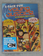 Young Justice: Season One Complete Volumes 1, 2 & 3 - DVD Box Set - NEW SEALED