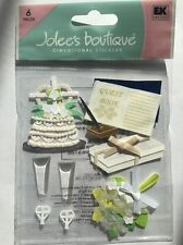 """Jolee's Boutique """"Christian"""" Wedding Dimensional Stickers"""