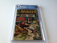 AVENGERS 18 CGC 6.5 COMMISSAR HAWKEYE SCARLET WITCH MARVEL COMICS