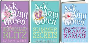 ASK AMY GREEN Summer Secrets,Bridesmaid Blitz,Love & other Drama FREE ship $35