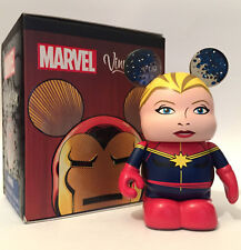 "DISNEY VINYLMATION 3"" MARVEL 3 CAPTAIN MARVEL COMICS AVENGERS ENDGAME TOY FIGURE"