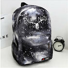 Anime Death Note School Bag Zipper Rucksack Backpack Star Camouflage bag