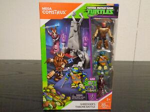 MEGA CONSTRUX Shredder's Throne Battle Teenage Mutant Ninja Turtles 85 PC FFC57