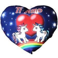 Cuscino Cuore Unicorni Ti Amo Regalo San Valentino 35 Cm PS 26428
