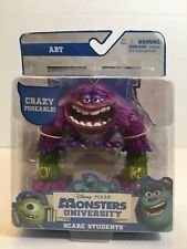 Disney Monsters University Scare Students ART Action Figure Pixar Poseable NEW