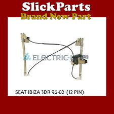 SEAT IBIZA WINDOW MOTOR COMFORT 3DR 12PIN 1996 1997 1998 1999 2000 2001 2002 NSF