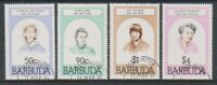 Barbuda - 1981, Famous Women set - F/U - SG 546/9