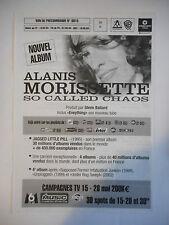 ▓ PLAN MEDIA ▓ ALANIS MORISSETTE : SO CALLED CHAOS / EVERYTHING (NOIR ET BLANC)